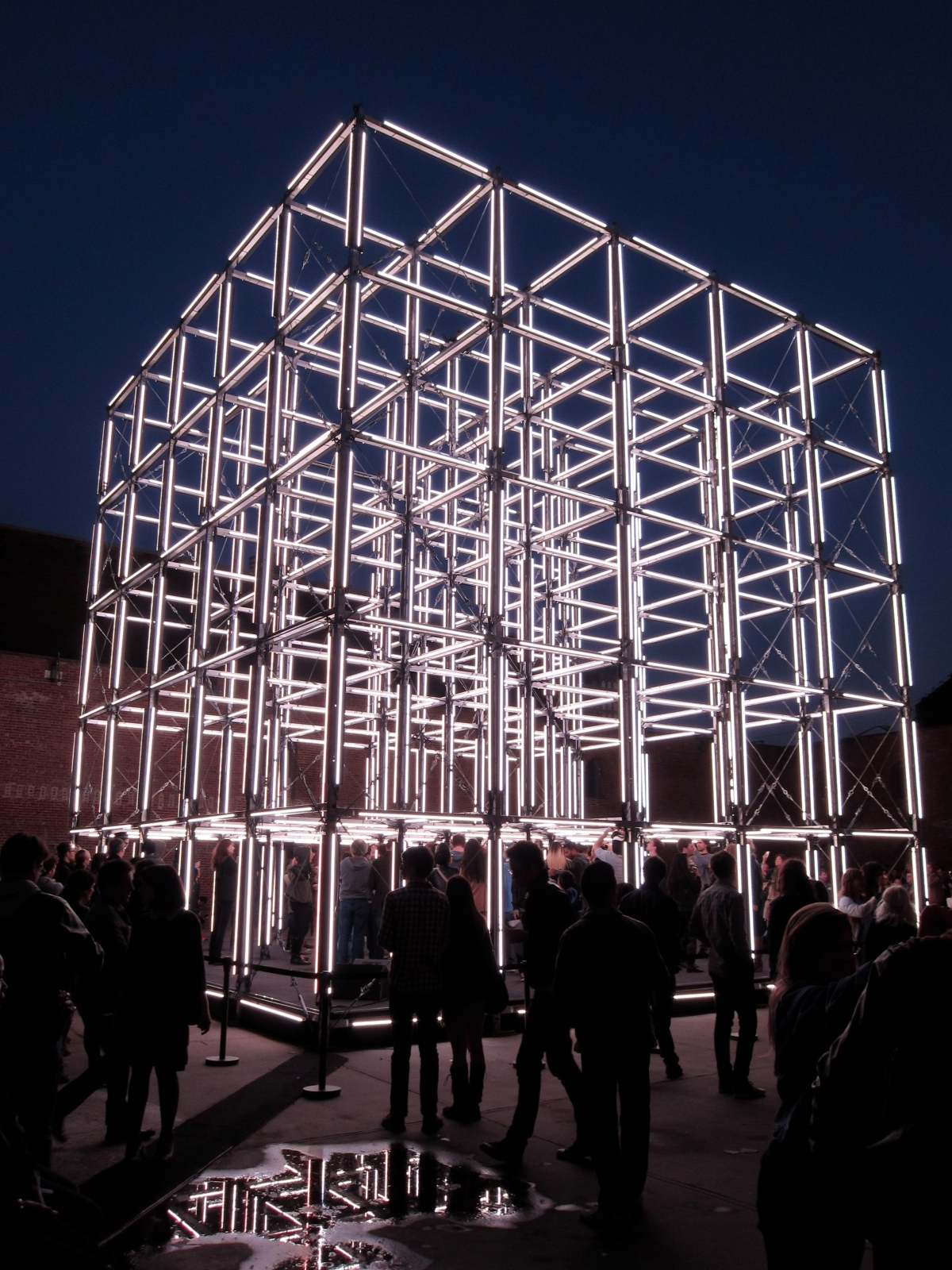 the creators project, origin installation, united visual artists