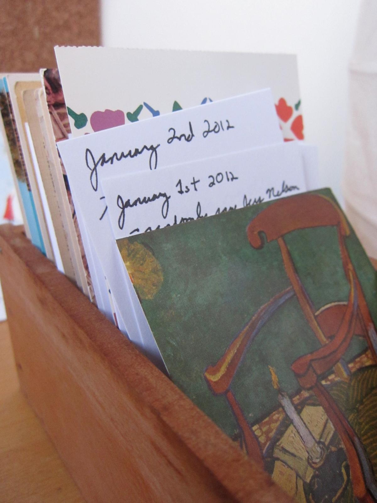 desktop calendar, 2012