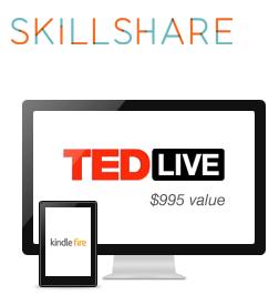 skillshare, TED,