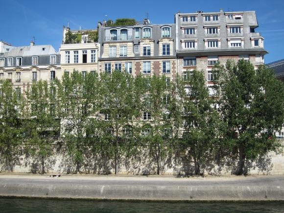 paris, seine river, reb carlson