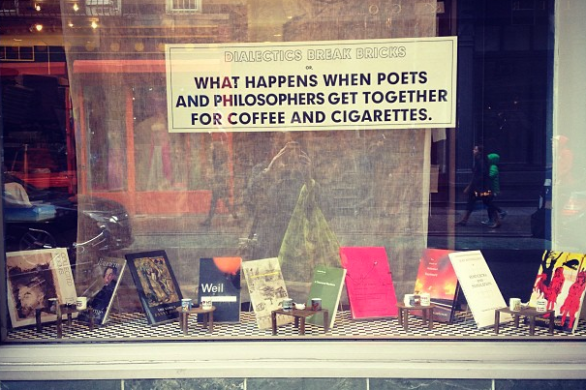 philosophy, poetry, books, coffee and cigarettes