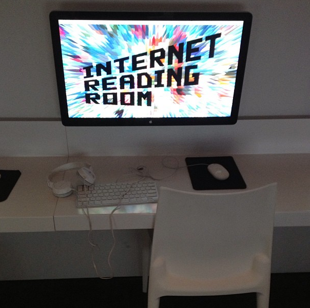 internet reading room, museum of the moving image